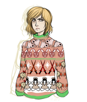 Heather's Ugly Christmas Sweater by Cheeselover4