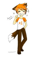 WoBS: Foxpaw Humanized by Eeveelutions95