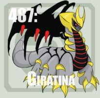 487 Giratina by Pokedex