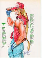 TERRY BOGARD by Crike99