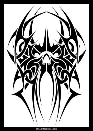 design tattoo with image tribal spider tattoos cool for arm tattoos