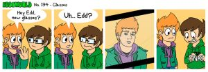 EWCOMIC No. 194 - Glasses by eddsworld