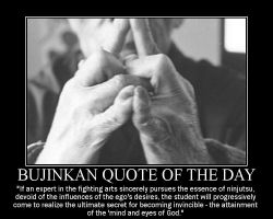 bujinkan quote of the day by overkillfl