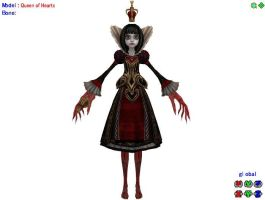 MMD WIP Queen of Hearts ~Modified Ver.~ by 0-0-Alice-0-0