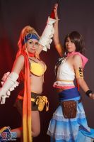 Rikku and Yuna by Susana--chan