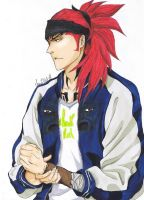 Renji V by CharliRed