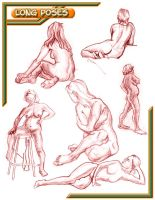 Long Poses by mattimations