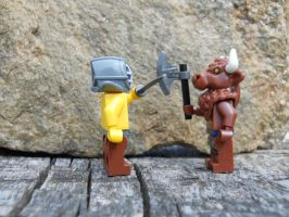 Theseus and the Minotaur by Tough-and-Heartless