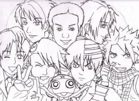 *TH Fanart Lineart(VERSION 2)* by AniMusision