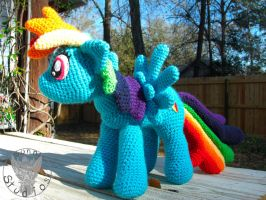 Rainbow Dash by TheCrochetDragon