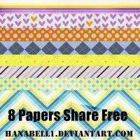 8 Papers Share Free by HanaBell1
