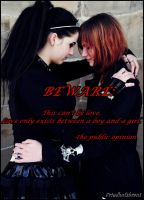 lesbian love. public opinion by GraveYardBride
