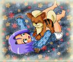Baby James and Growlie play time by Maaiika2003
