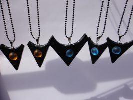 Starship Pendants by Stargatesg11