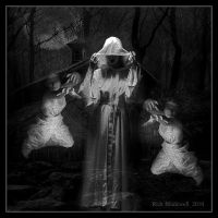 Spirit of The Witch BW by Rickbw1