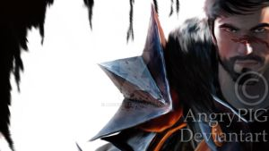 Dragon Age 2 Hawk by AngryPIG