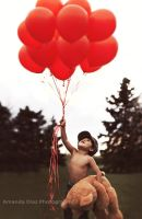 Red Balloons II by Amanda-Diaz