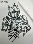 Roboknight by MelodicInterval
