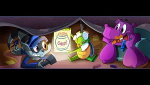 sanzaru games , sly cooper in the orphanat by FCC93
