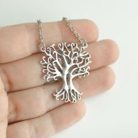 Tangled Tree Necklace by MonsterBrandCrafts