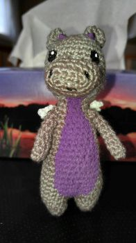 tiny TallDragon - front by TehKnittyKitty