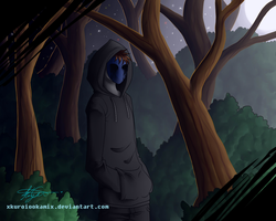 Eyeless Jack - Nightly Walk by HIDDEN-being