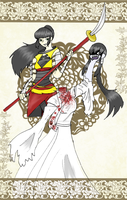 BASARA: Justice and Vengeance by Blue-and-Dog