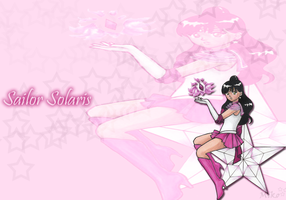 Sailor Solaris Wallpaper by xPureMapleCanadianx
