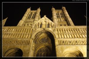 Lincoln cathedral at night... by amzb87