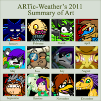 2011 summary by ARTic-Weather