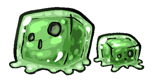 Minecraft Slime by SirCaterpie