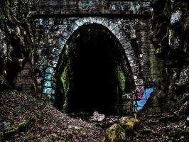 Abandoned Blue Ridge Tunnel by Stone1980