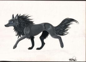 wolf by Whodovoodoo