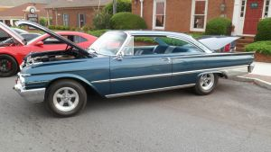 '61 Ford Starliner Blue by hankypanky68