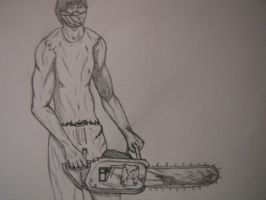 Chainsaw murderer by deathandchaos