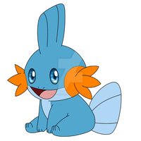 Shamwow the Mudkip by DreamyNormy