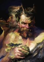 Study from Rubens Peter Paul by zhuzhu