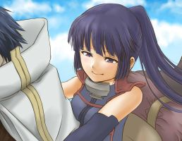 Log Horizon Akatsuki smile by foluthewizard