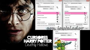 Harry Potter Cursors (Deathly Hallows) by Cursorsandmore