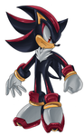 -Shadow the Hedgehog- by Chibi-Nuffie