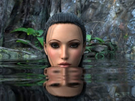 Lady In Lake 1 by TweezeTyne