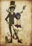 Tyki and Road by faQy