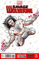 Weapon X Sketch Cover by 93Cobra