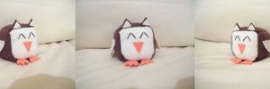 Owl Cube Plushie by Cube-lees