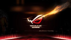 ROG Maximum Gaming by Hingjon by HingjonWallpapers