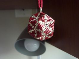 Red Dodecahedron by EraserRain27