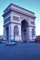 The Arc de Triomphe 4 by AlanSmithers