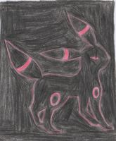 my red umbreon by katebushfanatic