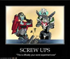 Perceptor not Amused by greenapplefreak