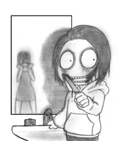 Jeff The Killer-What's wrong mommy? by EdoRoku